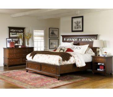 Aspen Home Reede S Landing 4 Piece Panel Storage Bedroom Set