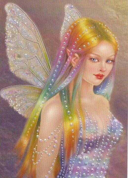 color and sparkle   Fadas   Pinterest   Hada, Fantasía y Gnomo