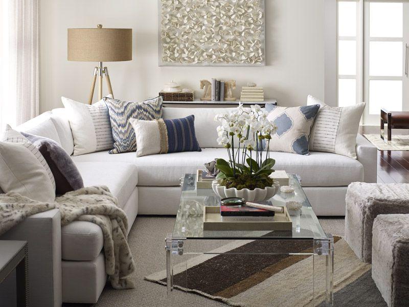 31 sectional sofas arranging pillows