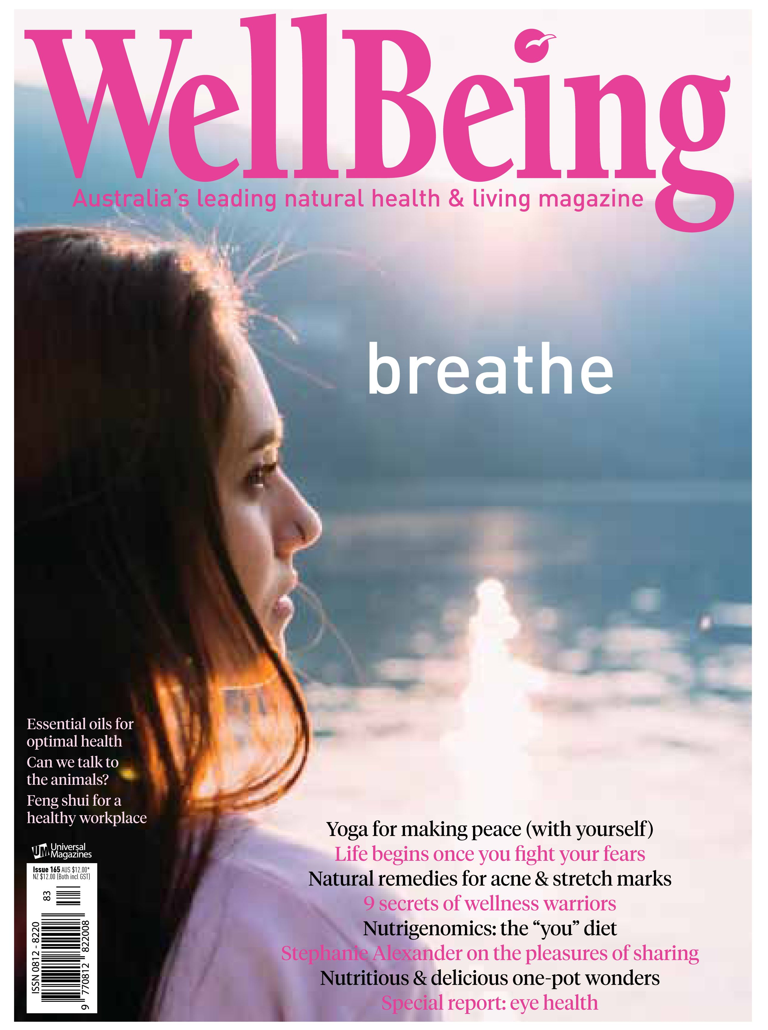 In WellBeing 165, we share how to create a meaningful life while striking the right balance between contribution and self-care. We sit down with Stephanie Alexander, explore how your genetic makeup can influence your wellness goals, look at eye health and draw comparisons between high-intensity interval training and hatha yoga. You'll also discover nourishing stretch mark remedies, ways to treat acne and essential oils, as well as one-pot wonders that'll revolutionise your week. Plus much…