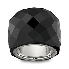 #Swarovski Nirvana Jet #Ring. I have this and it is one of my favorite accessories!