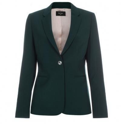 8c387b1642a Paul Smith Women s Dark Green Wool Blazer
