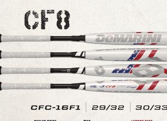 -9 Black//Orange DeMarini 2016 CF8 Fastpitch Bat