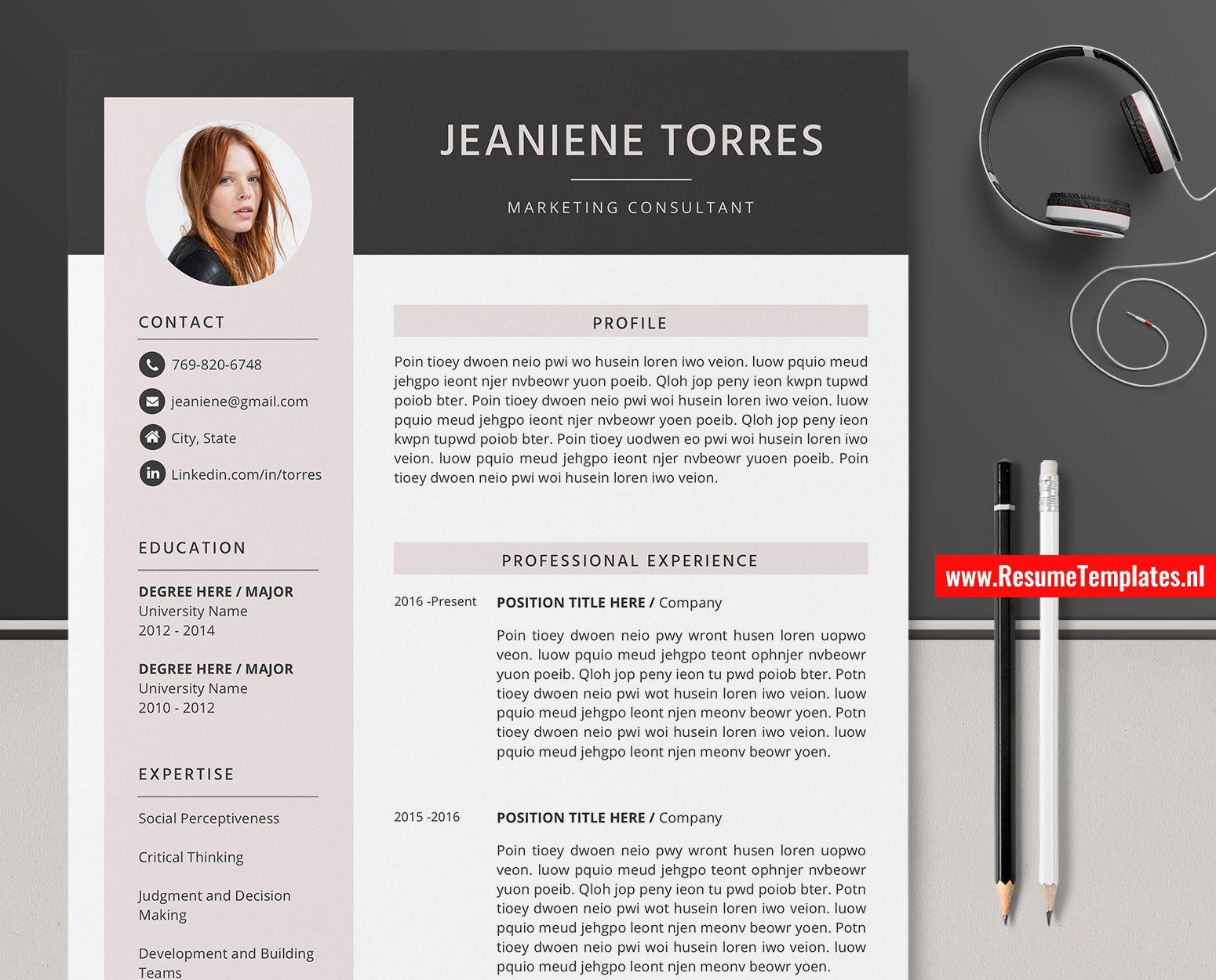 ResumeTemplates.nl Professional and Creative Resume
