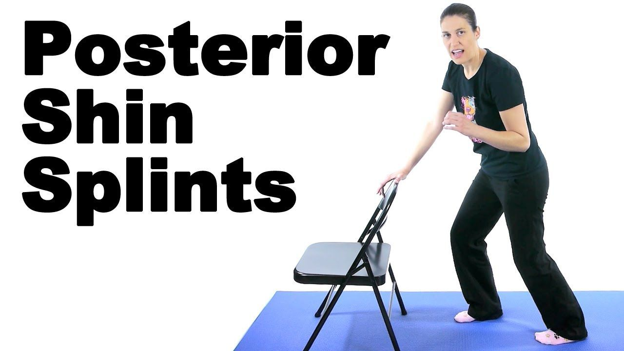 Posterior shin splints can be very painful and they can literally