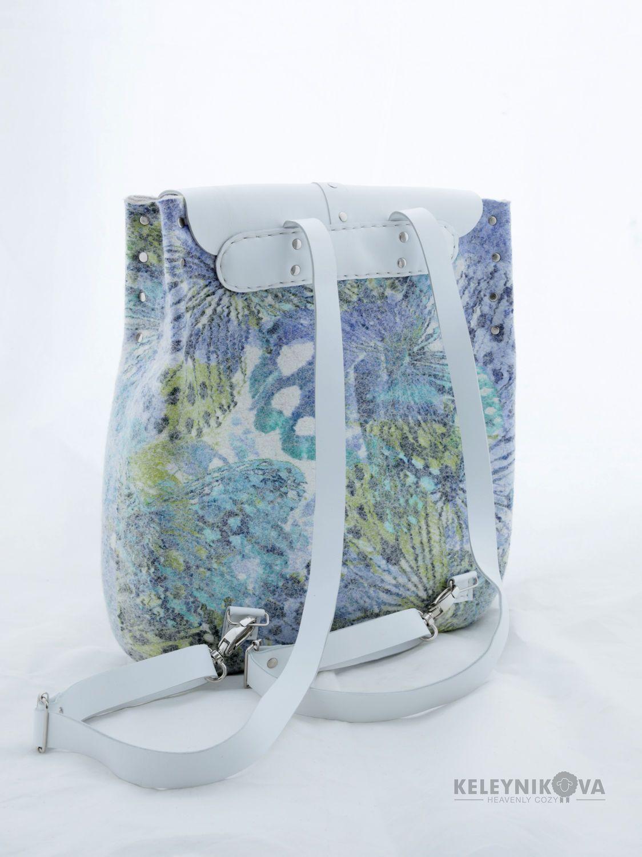 19e7d260ed64 Купить Валяный рюкзак Крыло бабочки - рюкзак, валяная сумка, сумка ...