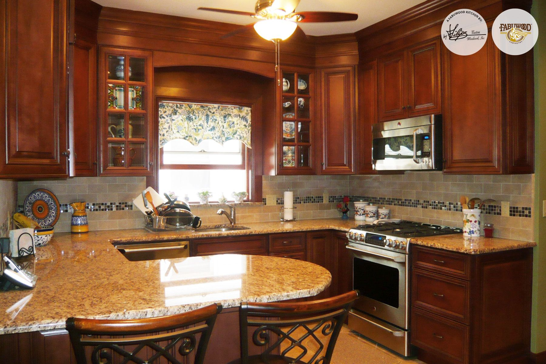 Thereu0027s Something About Darker Woods Like Our Elite Cabinets In Cinnamon  That Add Another Dimension To