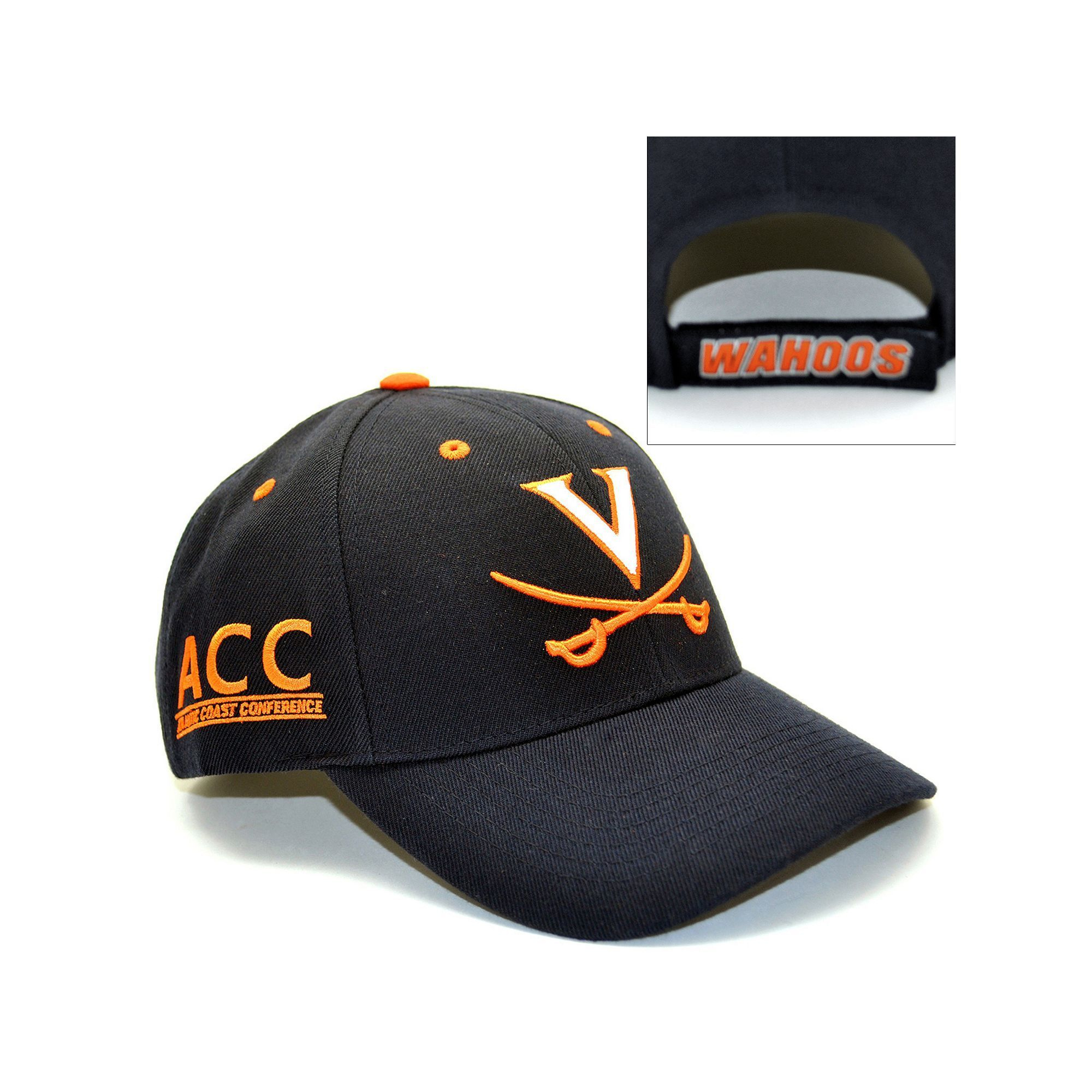 quality design 1f7f1 d093c ... new zealand top of the world virginia cavaliers triple conference baseball  cap adult blue 1a5a3 f41e7