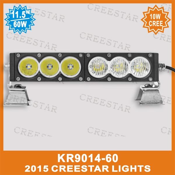"54.90$  Buy here - http://alixyb.worldwells.pw/go.php?t=32273704370 - ""Multi function 11"""" inch 60W LED Work Light Bar for Tractor ATV 12v 24v Offroad LED Work light Bar 4x4 4wd Amber White Light Bar"""