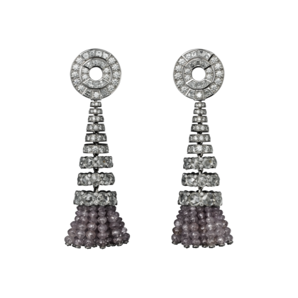 High Jewelry earrings Platinum, diamonds Cartier
