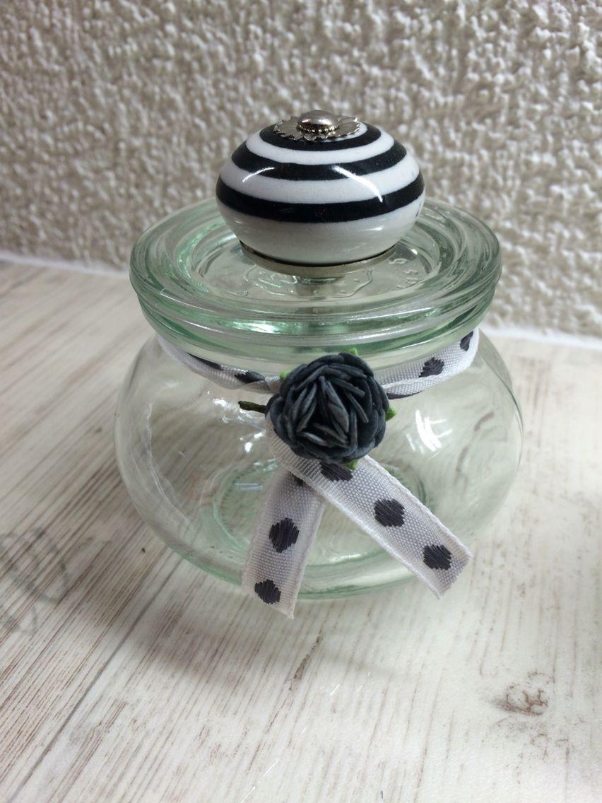 Weckglas Mit Mobelknopf Deko Craft Corner Crafts Und Corner
