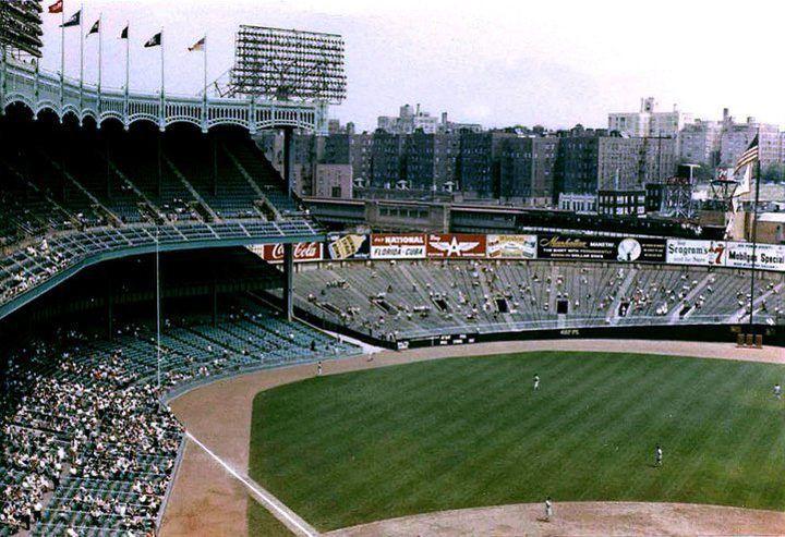 22 Photos Of Summer In The 60s The Beatles World S Fair More Yankee Stadium Stadium Major League Baseball Stadiums