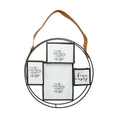 Round Collage Frame With Strap | Kmart | Creative Art Studio & Chill ...