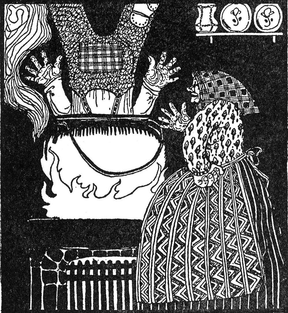The Husband Who Was to Mind the House'   ASBJØRN et al. East of the Sun and  West of the Moon: Old Tales from the North. Kay Nielsen…   Картинки,  Иллюстратор, Книги