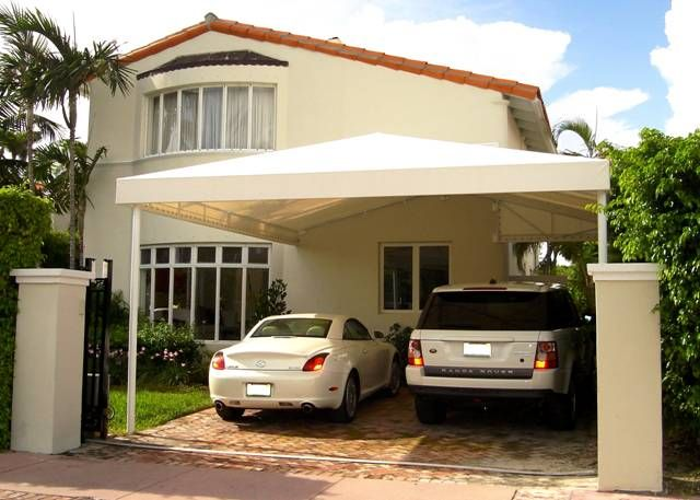 carports from miami awning company awnings canopies. Black Bedroom Furniture Sets. Home Design Ideas