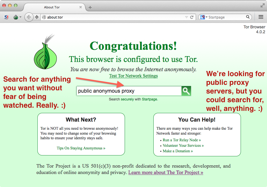 search tor browser