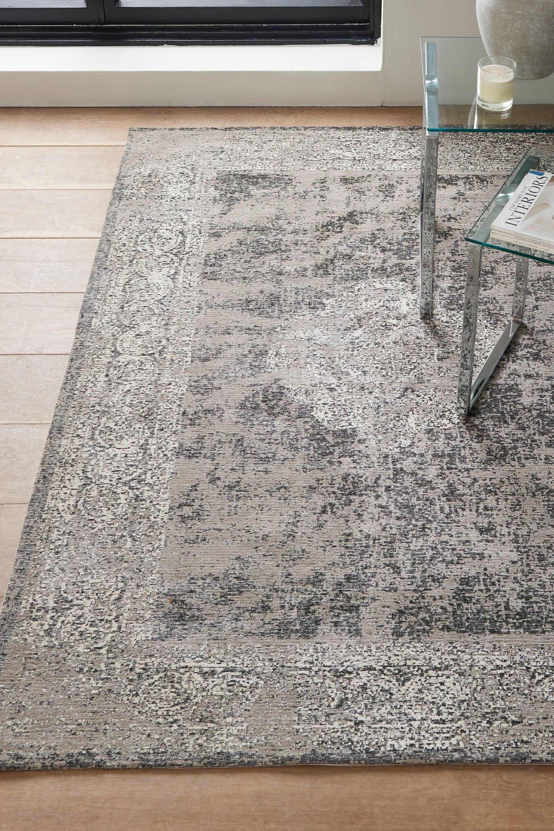 Next Distressed Oriental Rug Grey Products In 2019
