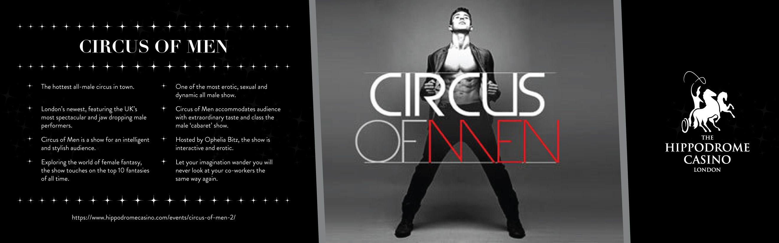 Circus Of Men - Book Male Circus Performers   UK
