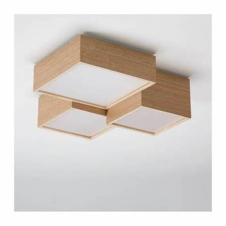 Kube By Olebyfm Wood Ceiling Lamp Ceiling Light Design Modern Led Ceiling Lights