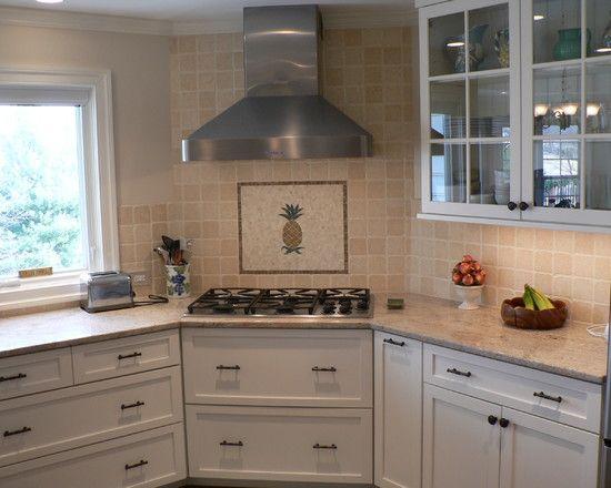 Captivating Kitchen Corner Cooktops Design, Big Drawers