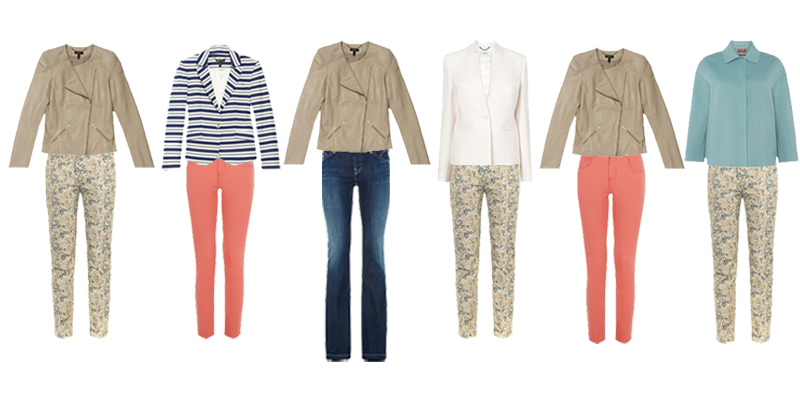 Spring capsule wardrobe the casual trouser choices with jackets http://ht.ly/JdOZz