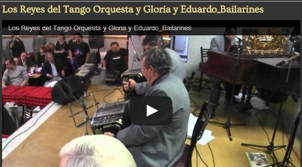 DISFRUTALO, Legendaria orquesta y bailarines. Todos son íconos del tango en el mundo. Dejanos tu comentario.