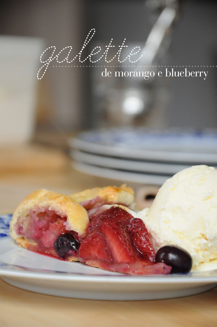 Quer a tortinha de frutas mais fácil de fazer da história?Galette é um termo da cozinha francesa para nomear todas as tortas redondas e achatadas. De preferência uma tortinha rústica que não prec…