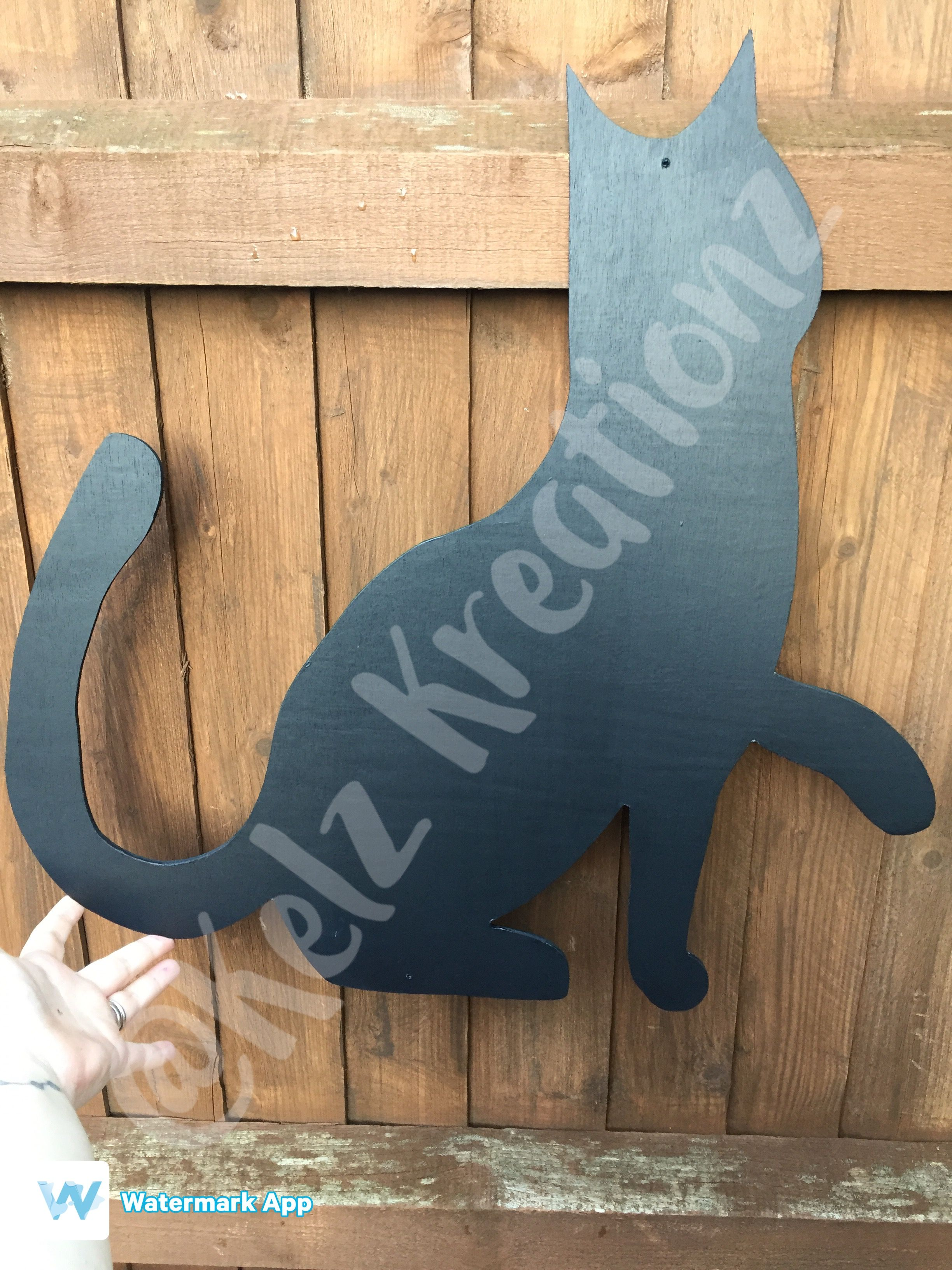 Shaped chalkboards CAT suitable for indoor and outdoor use