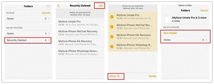 How to Recover Lost or Deleted Notes from iPod touch on