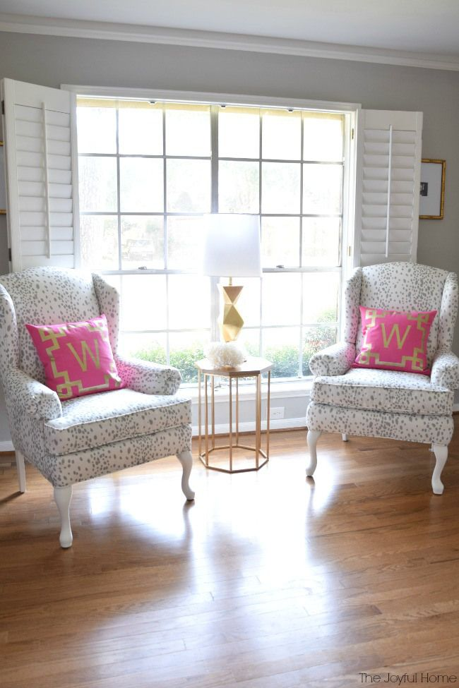 interesting formal living room furniture sets | Classic and Fun Formal Living Room Reveal | Living Rooms ...