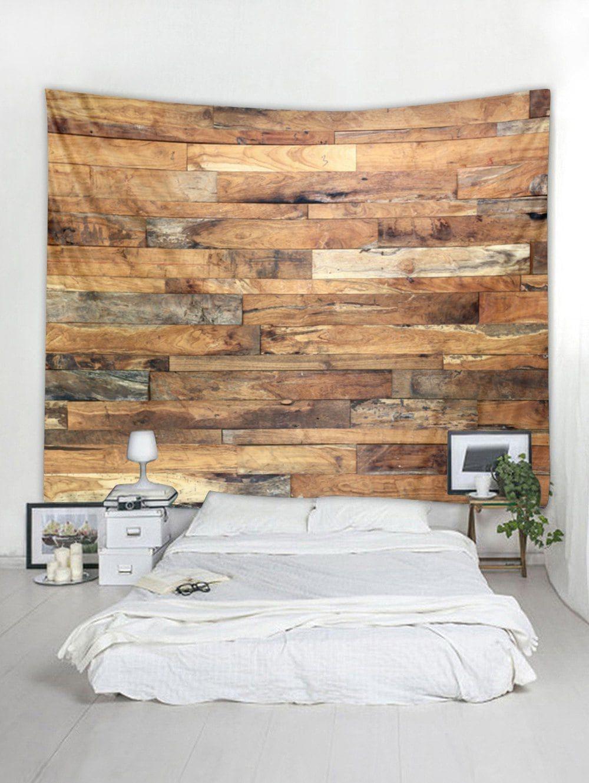 Old wood grain print wall art tapestry wall art pinterest wall