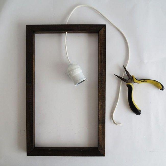 Como hacer una lámpara minimalista Minimalistas, Como hacer una