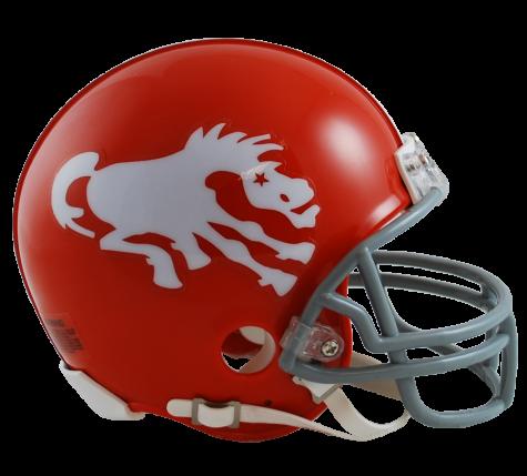 Denver Broncos 19621965 Mini Helmet 34.99 at Sportsfan
