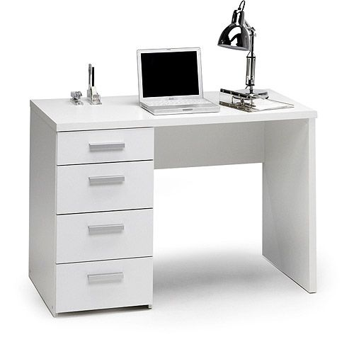 Parker Student Desk White Walmart Com Desk Student Desks Desk With Drawers