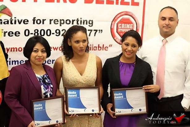 Crime Stoppers Belize Wins Awards And