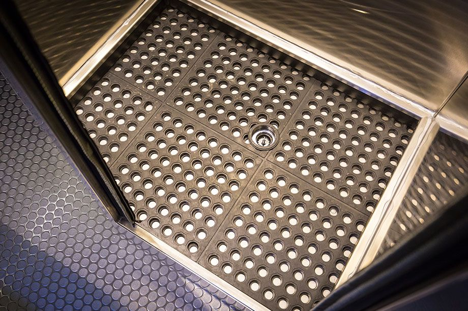 Stainless Steel Rv Shower Pan.Full Stainless Enclosured Shower Or Removable Shower Pan