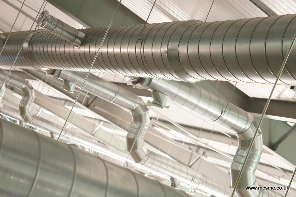 New ducting  #modlyneham