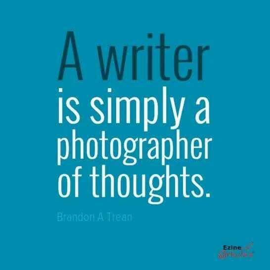 writers thoughts on writing