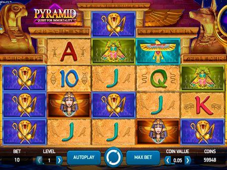 pyramid quest for immortality описание игрового автомата