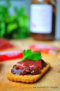 Spéculoos et confit de figues pour l'apéro - Cuisinons En Couleurs