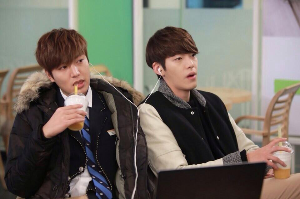 망고식스 Mangosix On Twitter Kim Woo Bin Lee Min Ho Dramas Lee Min Ho