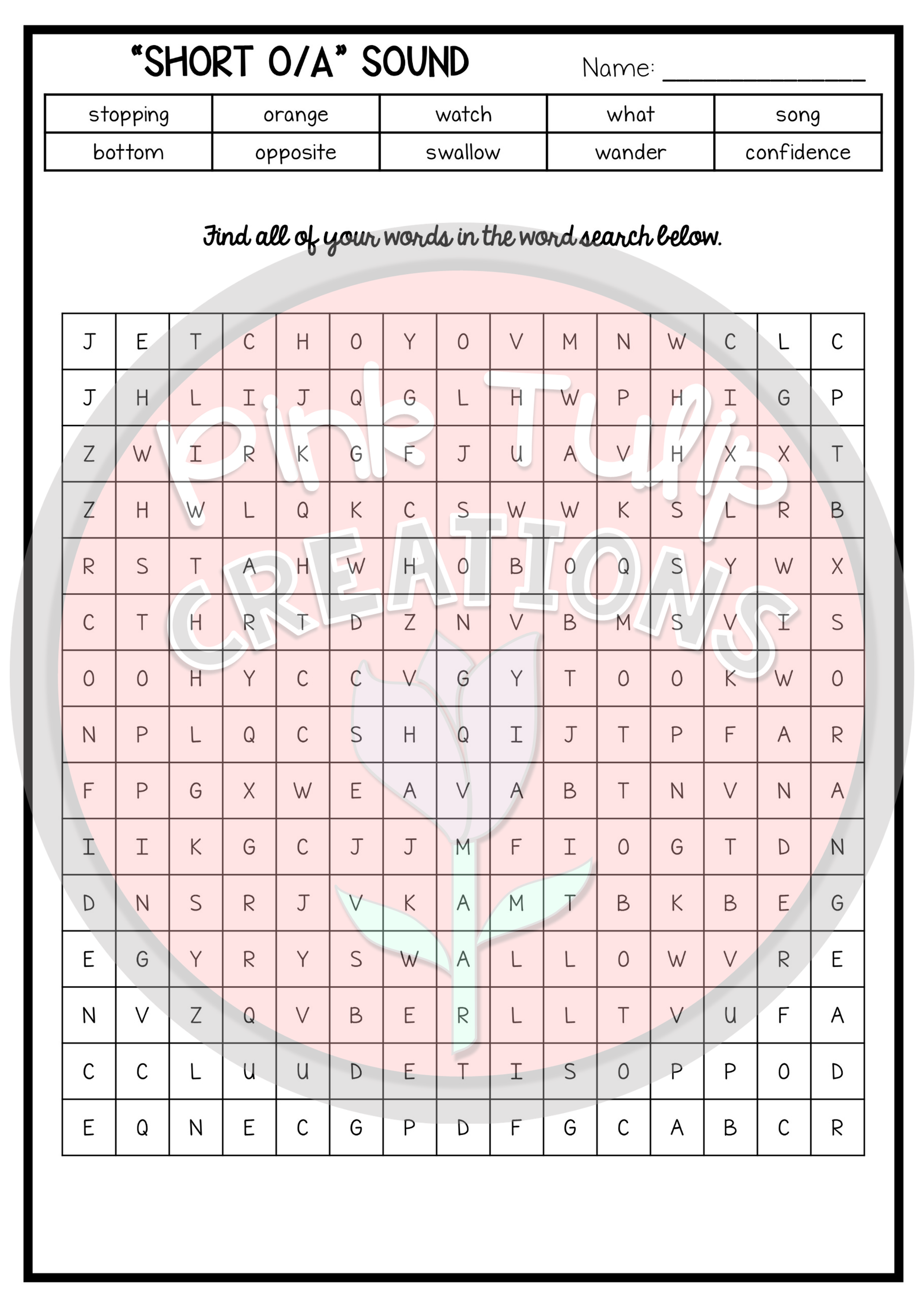 Year Long Spelling Workbook