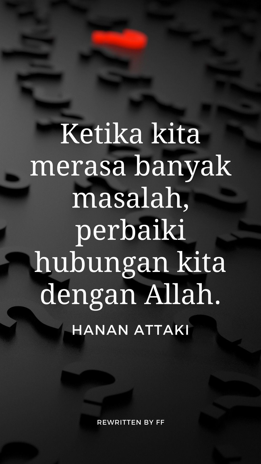 Love Quotes Hanan Attaki