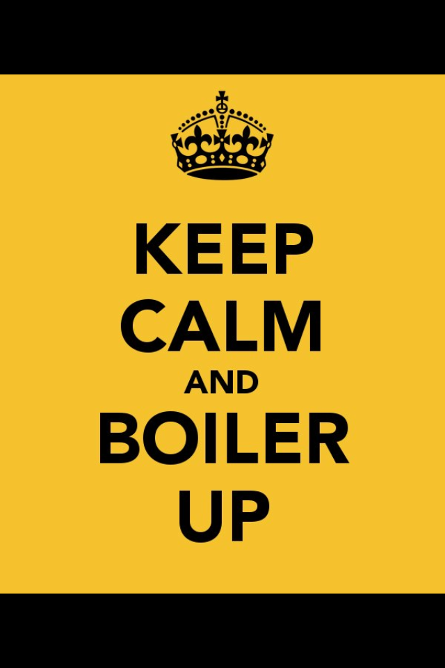Keep Calm and Boiler Up