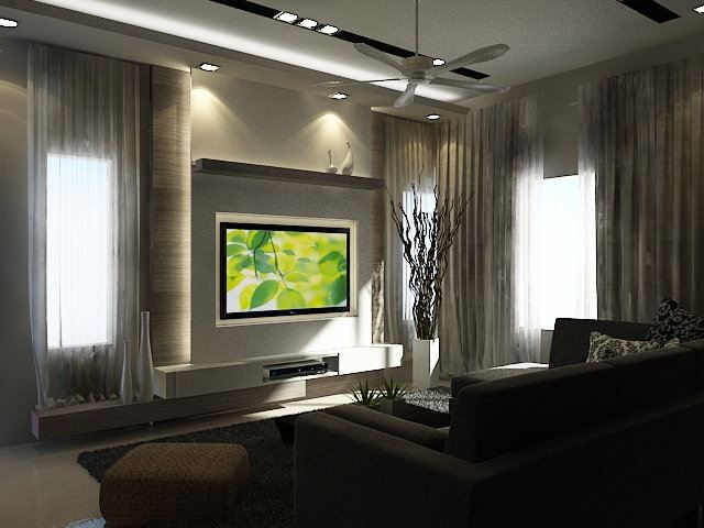 Tv feature wall design tv feature wall design living room for Living room jb