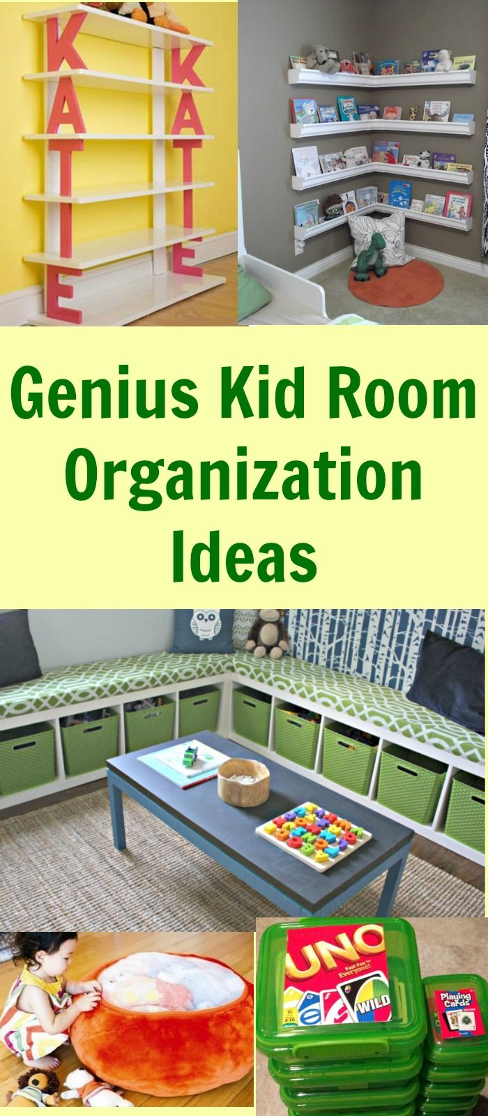 Genius Kid Room Organization Ideas