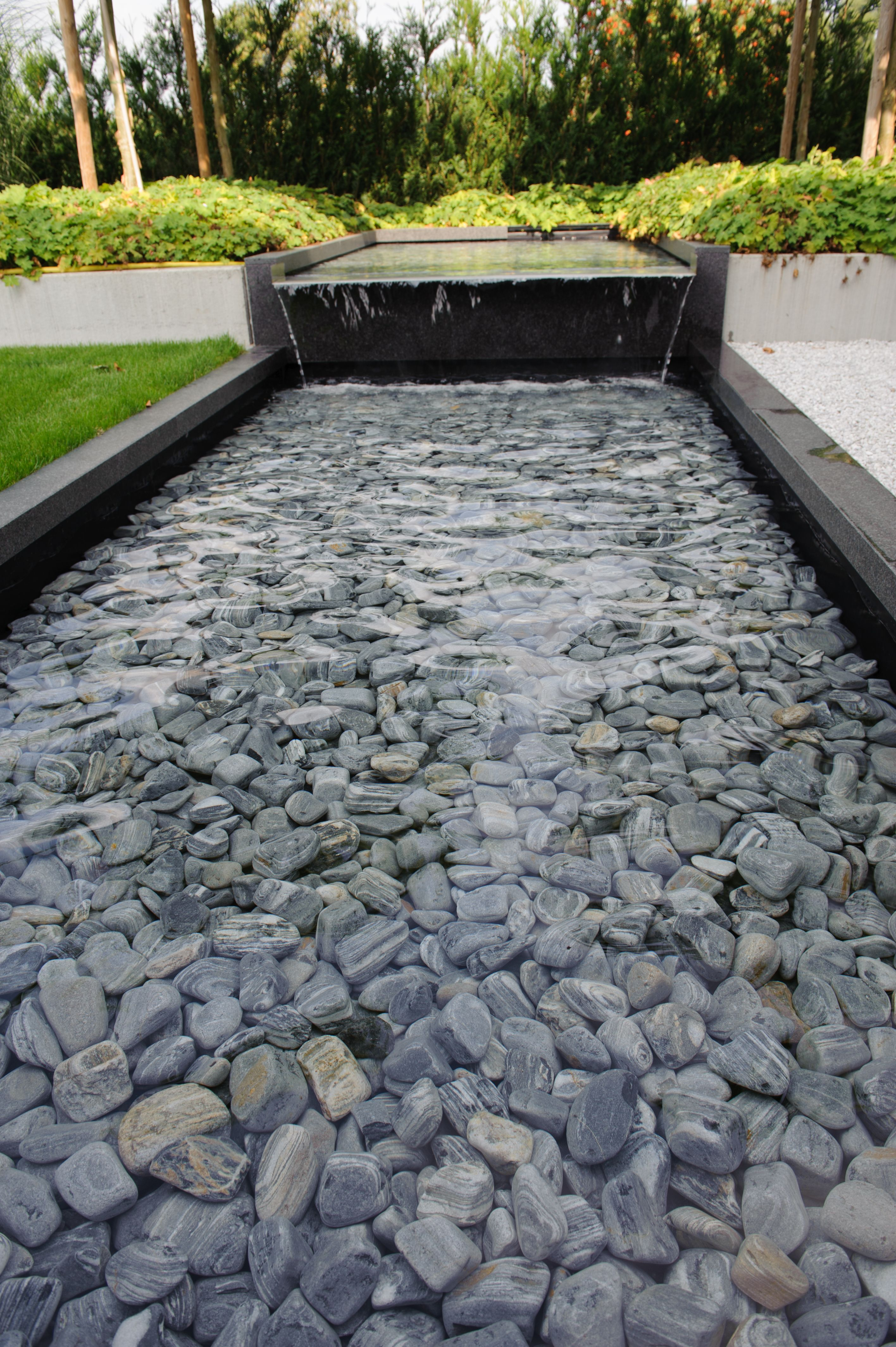 Garden water features  Pin by Garden Design for Living on Water Features  Pinterest