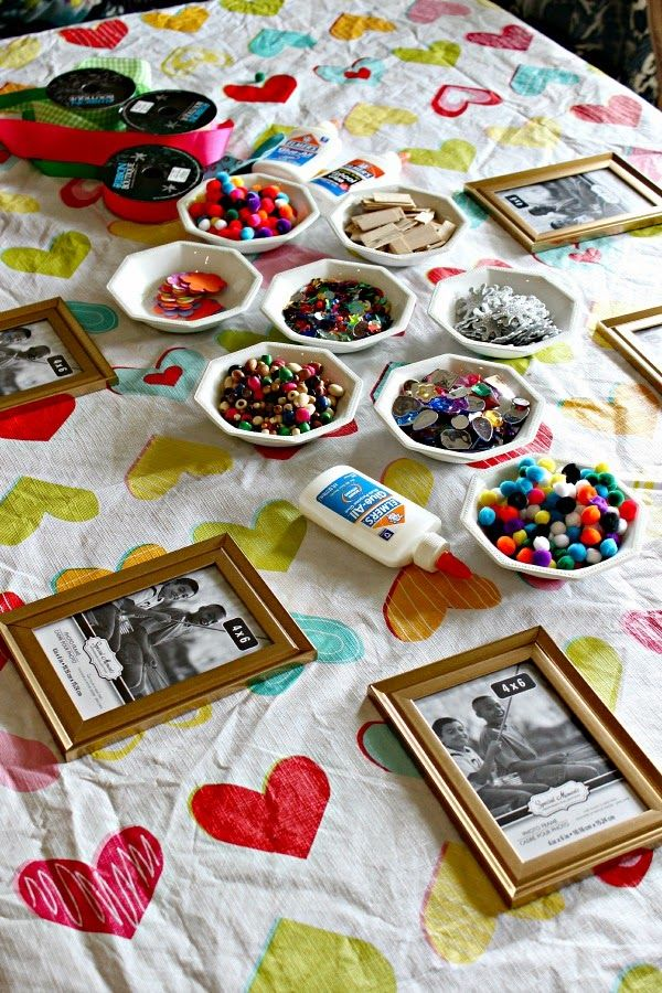 S Birthday Party Slumber Craft Ideas Sleepover Activities Diy Personalized Frames From The Dollar