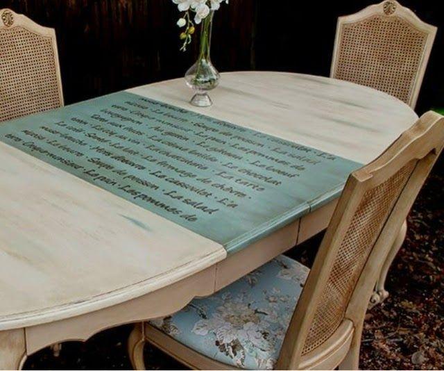 Blog sobre decoracion muebles pintados chalk paint - Muebles pintados vintage ...