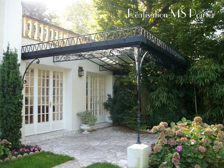 Fer forgé et verre pour l\'extérieur | Maisons et jardins en France ...